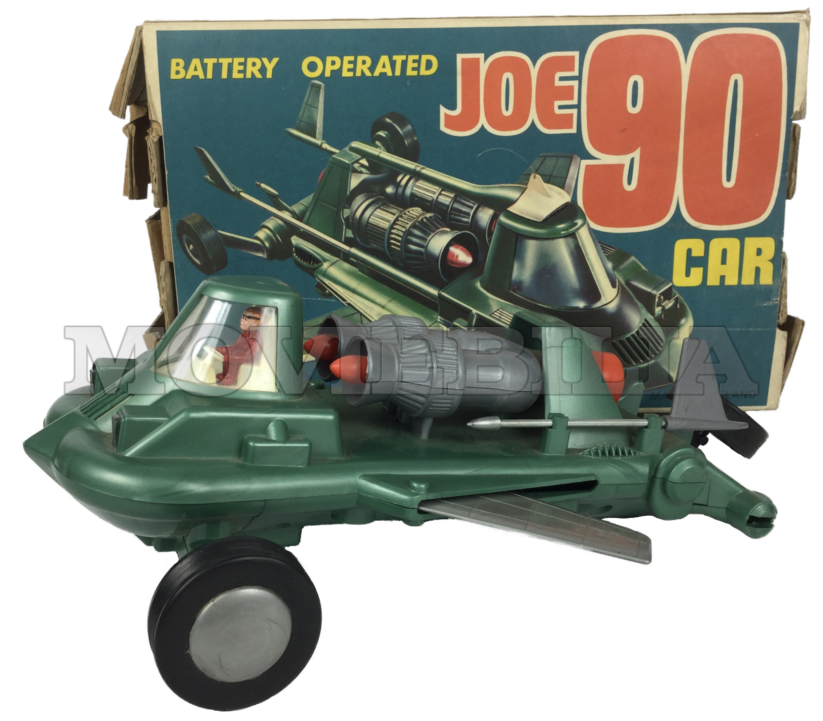 Joe 90 Jr21 Rosenthal Battery Operated Mac S Jet Car